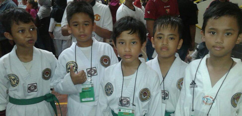 Taekwondo Latih Mental Siswa
