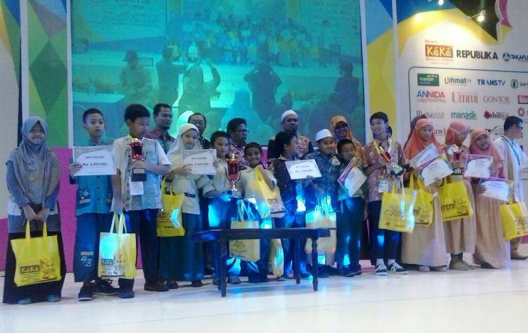 SDIT Nurul Fikri Juara III Lomba Cerdas Cermat Sains & Alquran