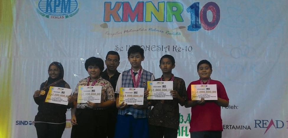 Abduh Raih Emas di KMNR 2015