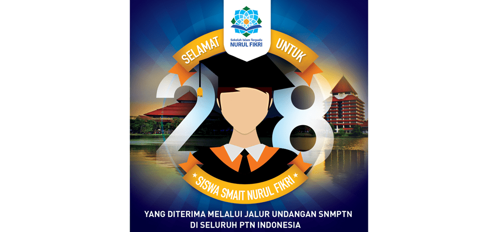 28 Siswa SMAIT Nurul Fikri Masuk PTN Via Jalur Undangan