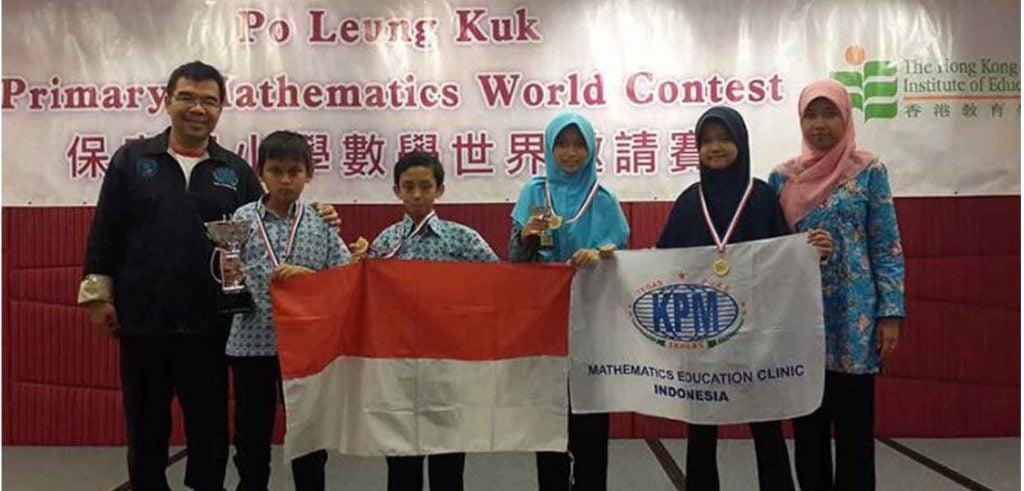 Siswa SDIT Nurul Fikri Raih Medali di PMWC Hong Kong
