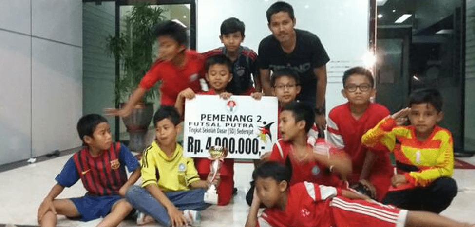 Tim Futsal SDIT Nurul Fikri Juara II di Sport Fun Festival Menpora 2015