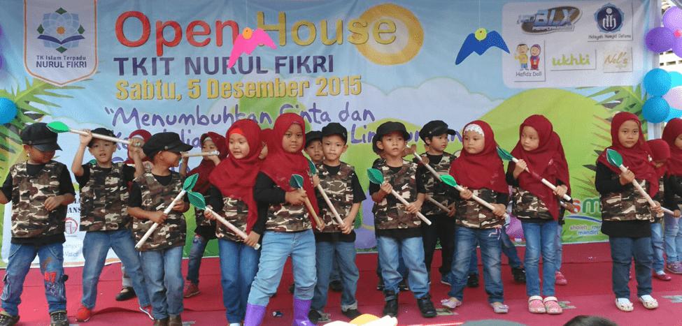 Siswa TKIT Nurul Fikri Unjuk Gigi di Open House 2015