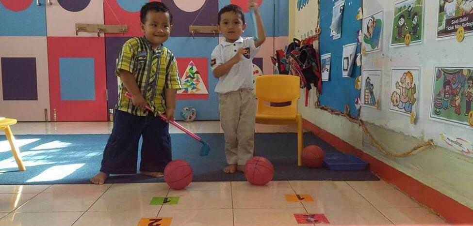 Giring Bola, Pengembangan Fisik Motorik Anak Usia Dini
