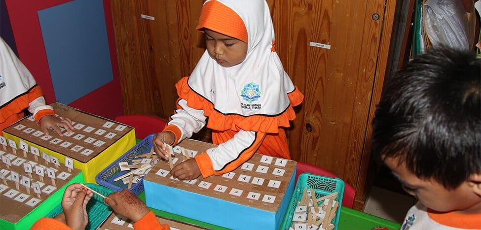Buka Trial Class Free di TKIT Nurul Fikri