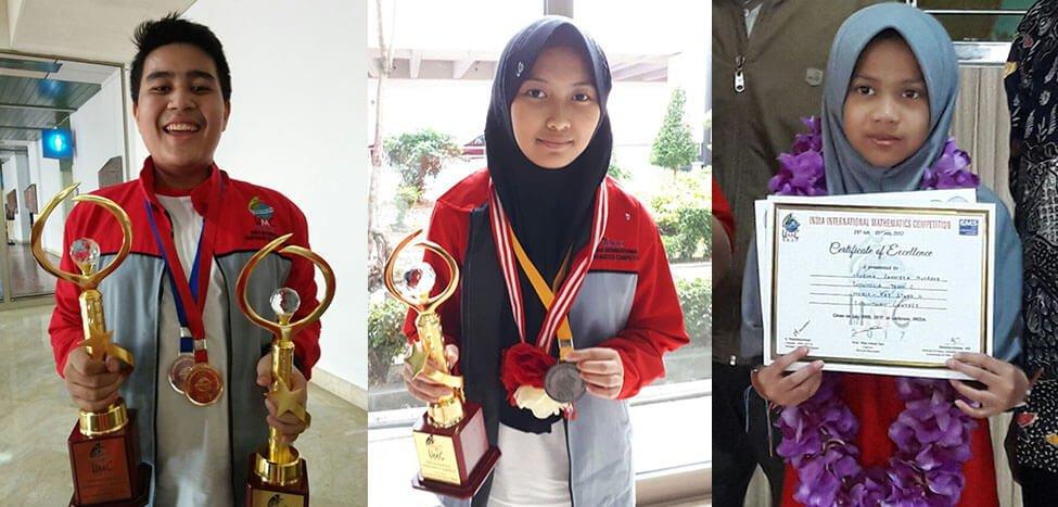 Tim A SMP Indonesia Juara I India International Mathematics Competition