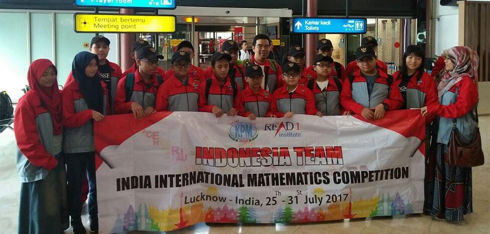 Tiga Siswa Nurul Fikri Ke India Ikut Olimpiade Matematika Internasional