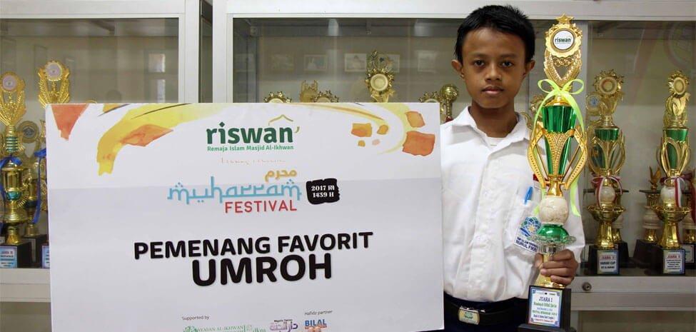 Ardell Raih Umrah Gratis dan Juara I Lomba MHQ