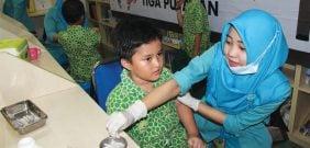 Imunisasi Difteri di SIT Nurul Fikri