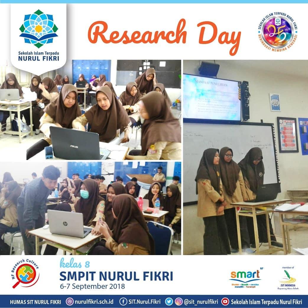 Kelas VIII Ikut Research Day