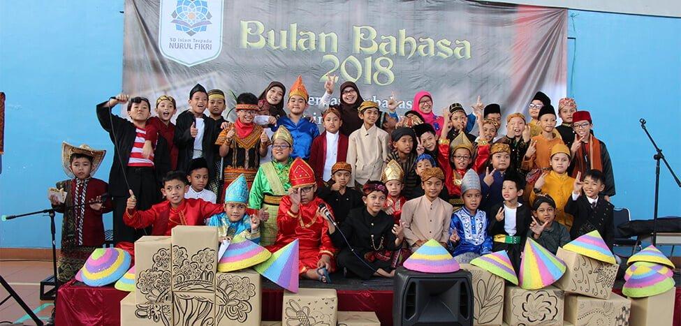 Serunya Pembukaan Bulan Bahasa 2018 SDIT Nurul Fikri