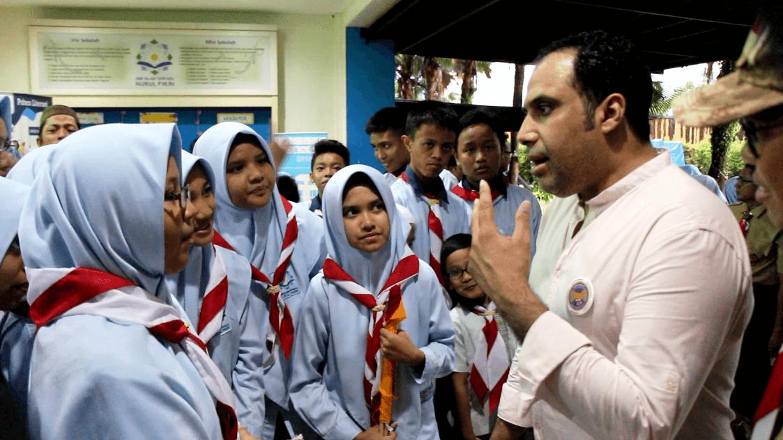 World Scout Foundation Berkunjung ke SIT Nurul Fikri