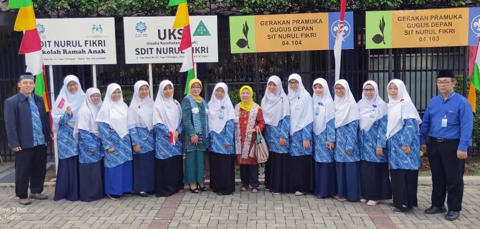 Tim Asesor Akreditasi Lakukan Visitasi Akreditasi di SDIT Nurul Fikri