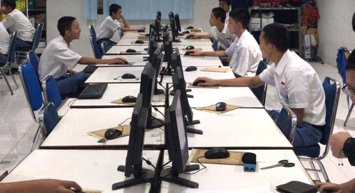 Pemilihan Ketua OSIS SMAIT Nurul Fikri Serentak Pakai Sistem e-Voting
