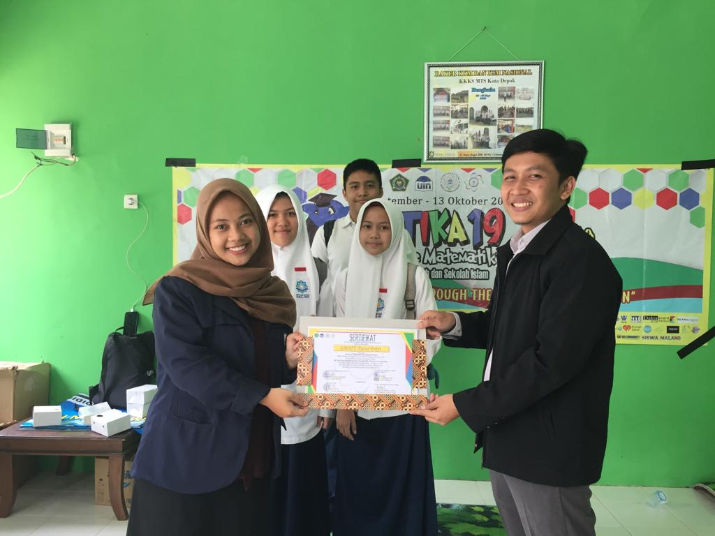 Kontingen SMPIT Nurul Fikri Raih Juara 2 OPTIKA