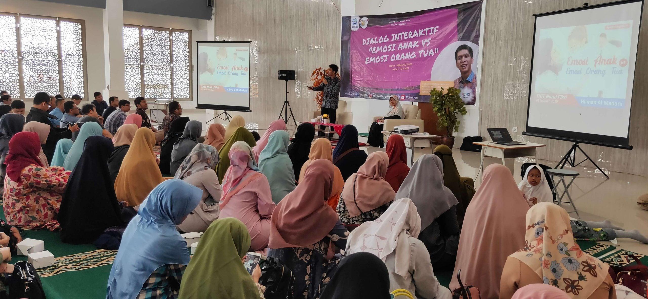 Gelar Seminar Parenting, Hadirkan Kak Hilman AL Madani