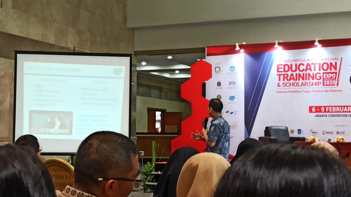 Guru Nurul Fikri Ikut Edutech Expo 2020 di Jakarta Convention Center