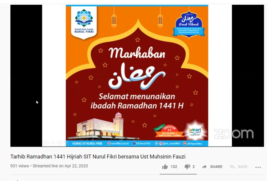 Jelang Puasa, Tarhib Ramadan di tengah Pandemi Corona