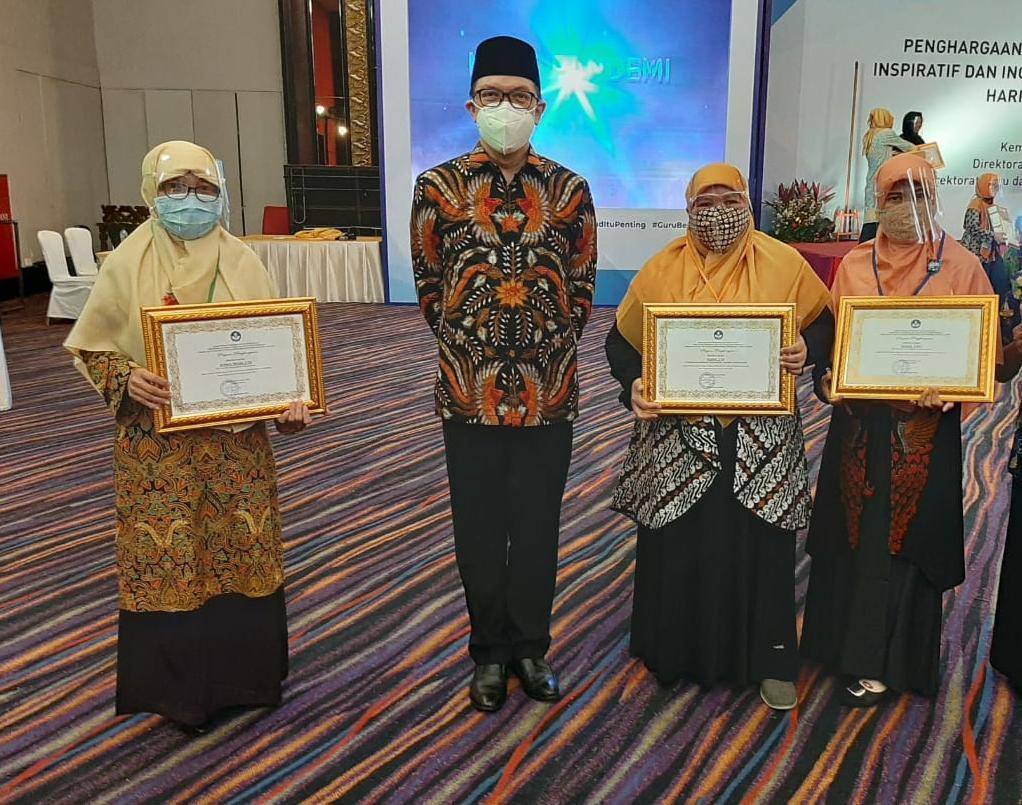 NF Raih Penghargaan Guru Inspiratif oleh Direktorat GTK PAUD