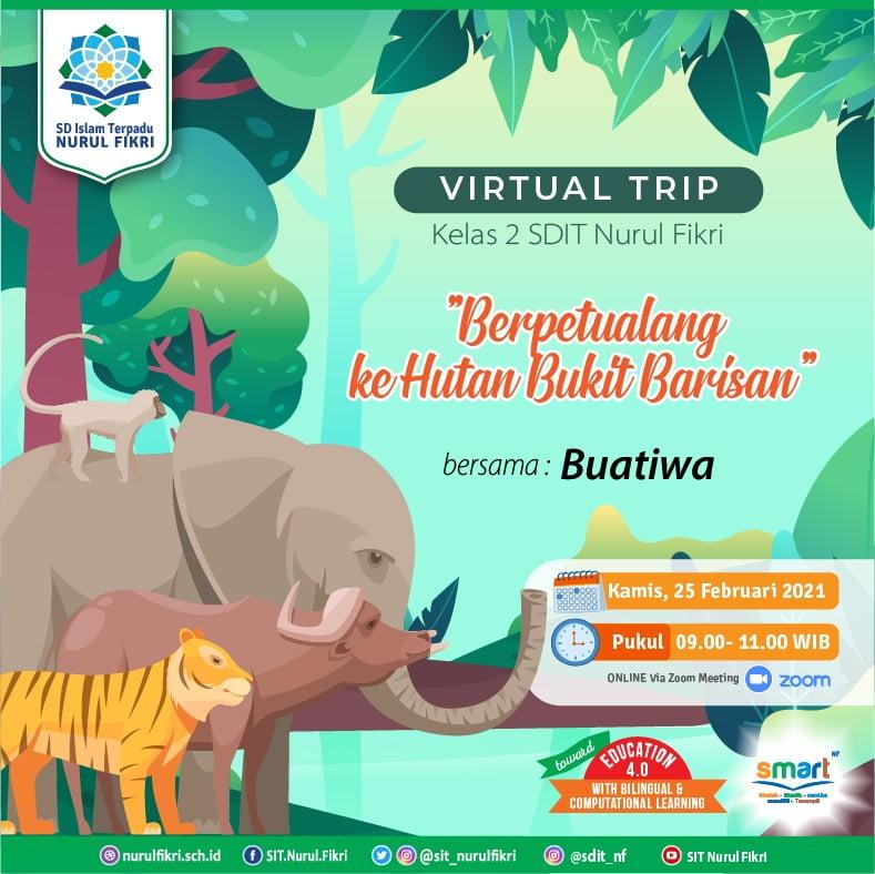 """Virtual Trip, """"Berpetualang ke Hutan Bukit Barisan"""""""