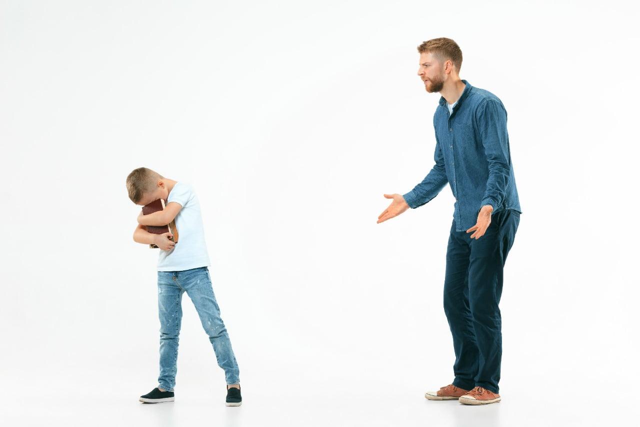 Jika Orangtua Membentak dan Berteriak Kepada Anak