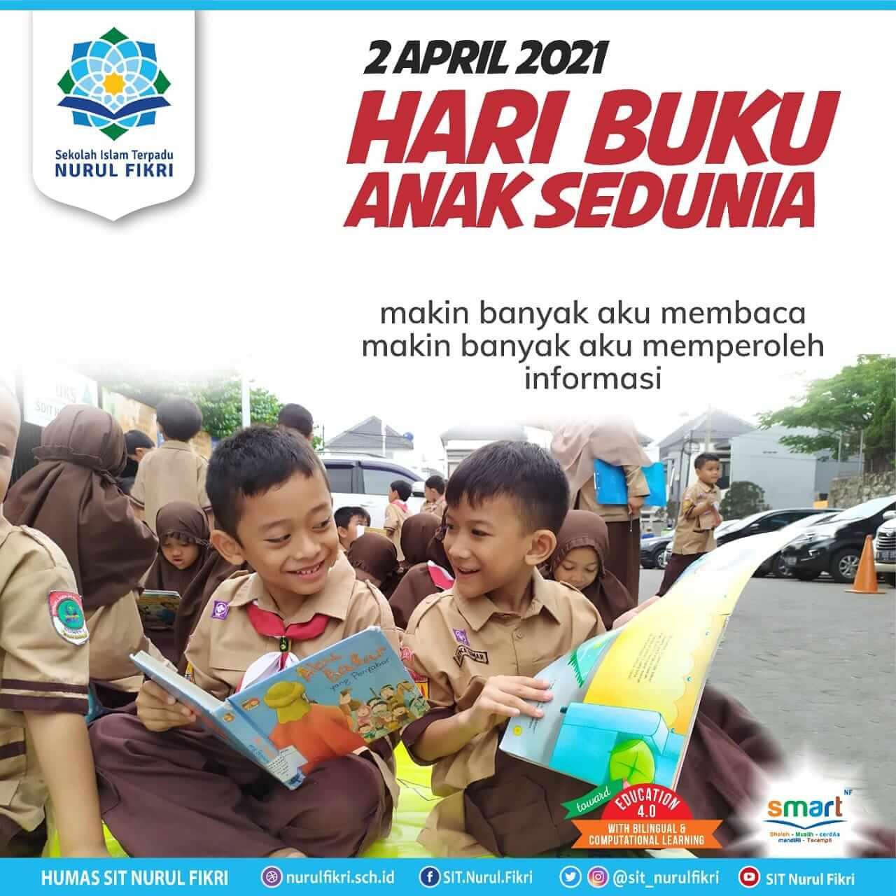 Selamat hari Buku Anak Sedunia